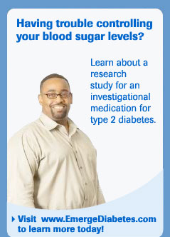 Visit www.EmergeDiabetes.com to learn more today!